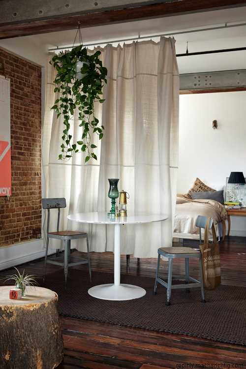 Earthy Studio Space Via Pinterest