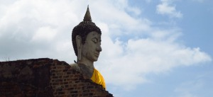 Buda-Ayutthaya-Tailândia.