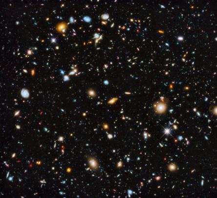 Photo by NASA,ESA, H. Teplitz and M. Rafelski (IPAC/Caltech), A. Koekemoer (STScI), R. Windhorst (Arizona State University), and Z. Levay (STScI)