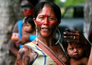 Mãe indigena- Linda!