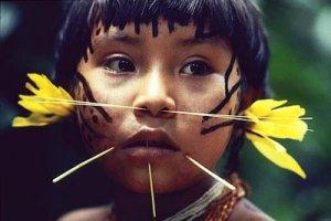 Yanomami niña