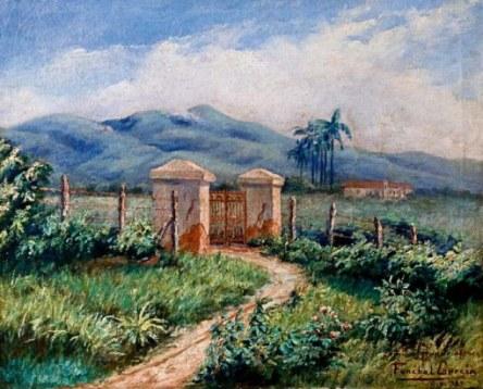 Funchal Garcia, Paisagem, 1939, 38 x 47 cm – OST