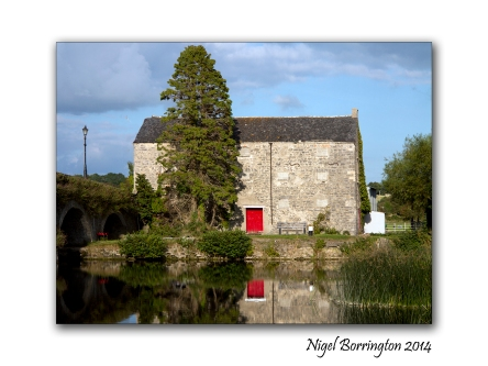 Kilkenny photograher, Nigel Borrington The old Mill at Goresbridge